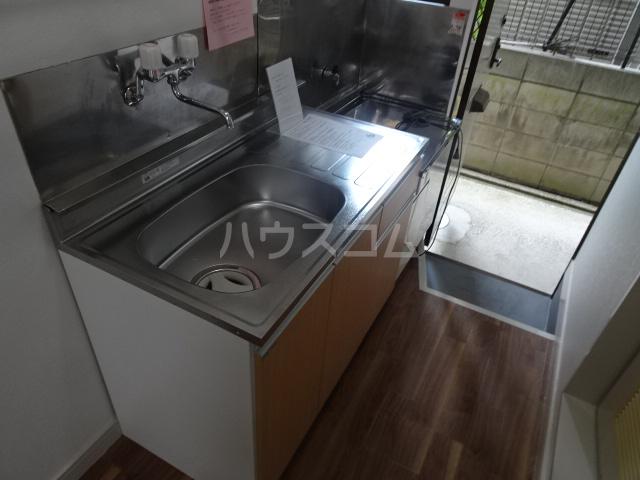 クレール1 114号室のキッチン