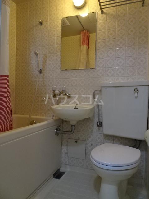 クレール1 114号室の風呂