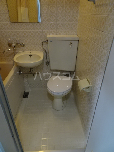 クレール1 114号室のトイレ