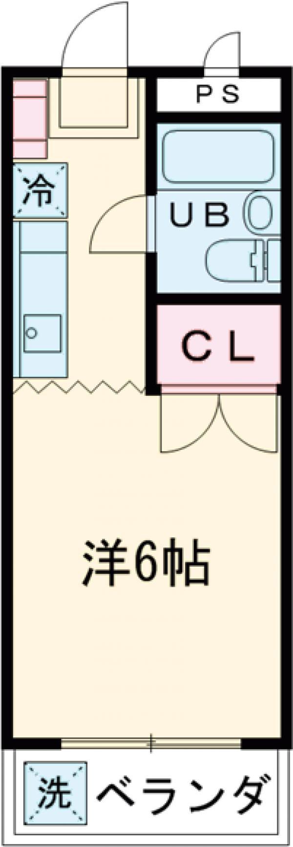 ジュネス田口 313号室の間取り