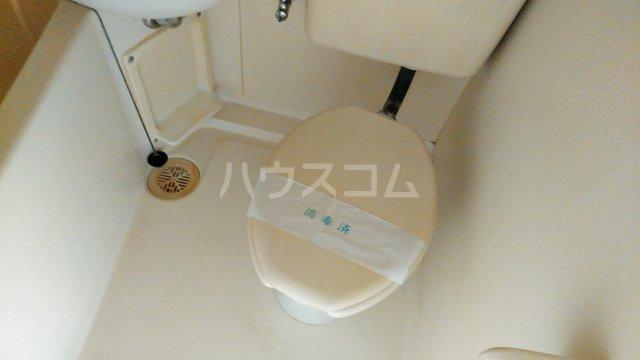 ジュネス田口 313号室のトイレ
