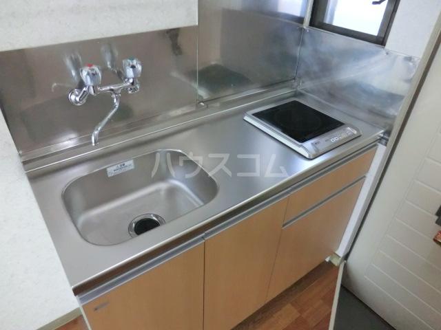 クレール2 216号室のキッチン