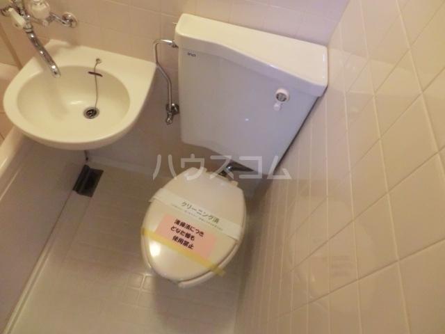 クレール2 216号室のトイレ