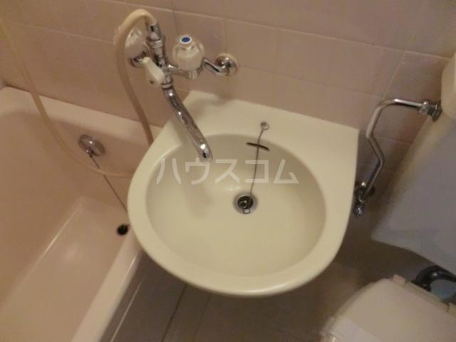 クレール2 216号室の洗面所