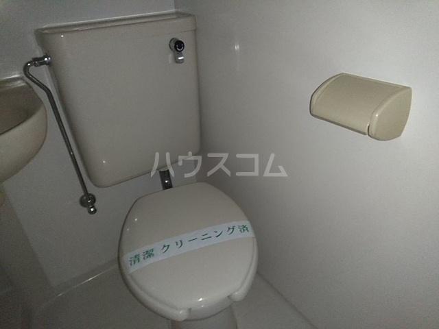 ニューアローズMⅡ 103号室のトイレ