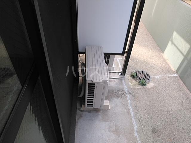 ニューアローズMⅡ 103号室のバルコニー