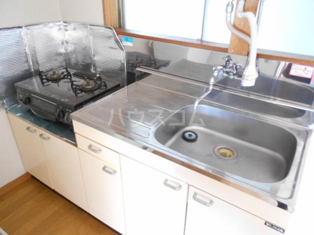 第1あずみの荘 202号室のキッチン