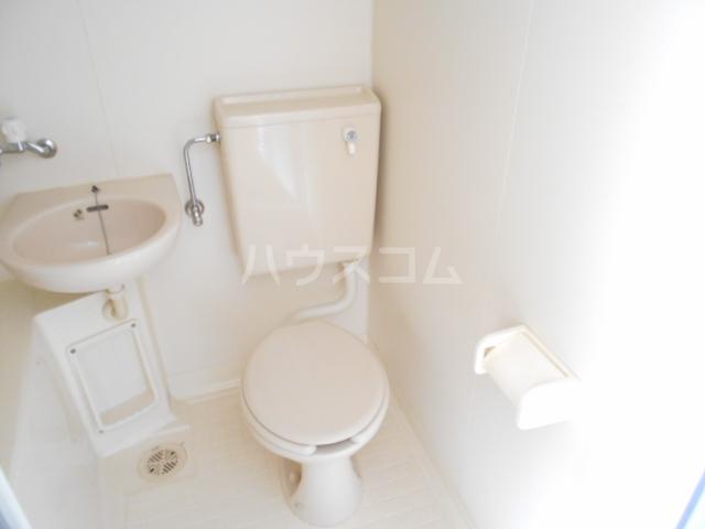 第1あずみの荘 202号室のトイレ