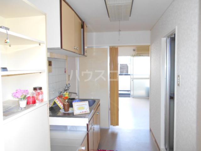 中川ビル 203号室の居室