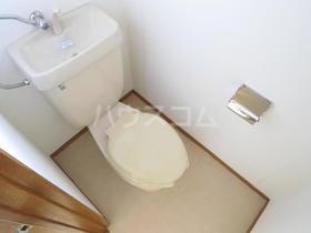 シャガール 202号室のトイレ
