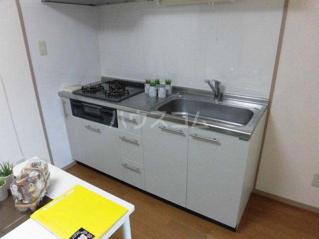 グリーンコーポラス 102号室のキッチン
