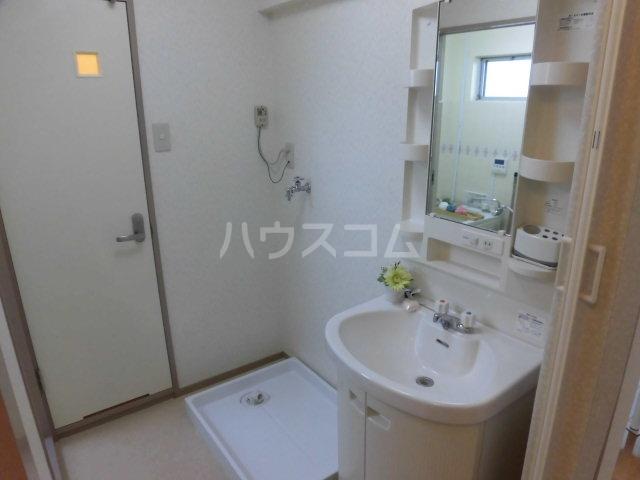 グリーンコーポラス 102号室の洗面所