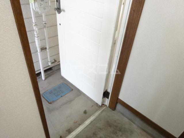 センター・ヴィレッジハイム 205号室の玄関