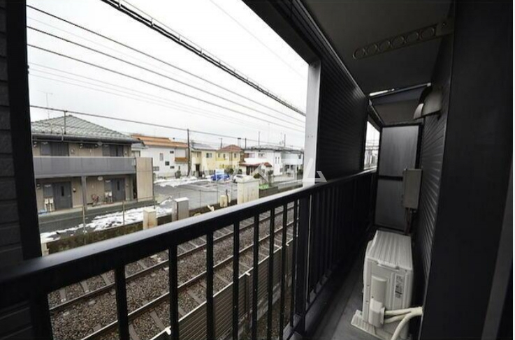 ラルゴ白糸台 209号室の景色