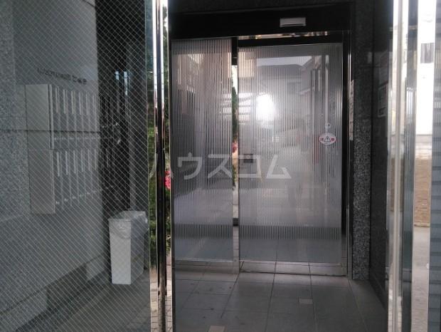 ラルゴ白糸台 209号室のエントランス