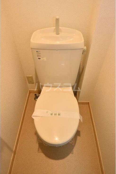 ラルゴ白糸台 209号室のトイレ