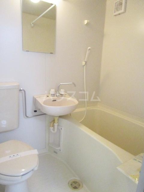 ハイツONO 202号室の洗面所