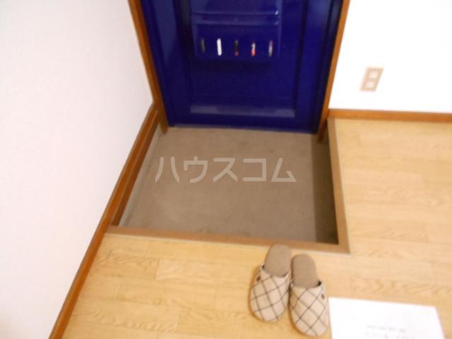 グリーンヒル 103号室の玄関