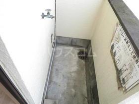 Mビル 3-D号室のバルコニー