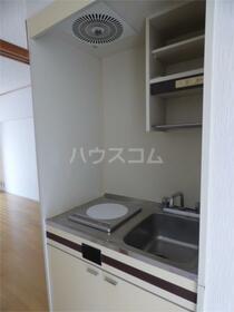 プラムハイツ 205号室のキッチン