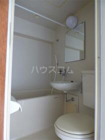 プラムハイツ 205号室のトイレ