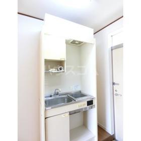 武蔵台ハイムB 202号室のキッチン