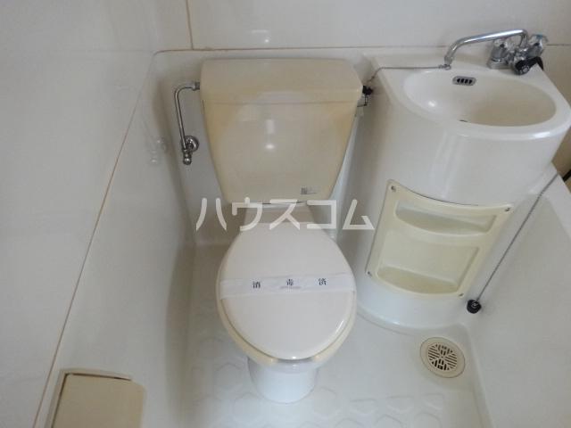 コーポ藤 201号室のトイレ