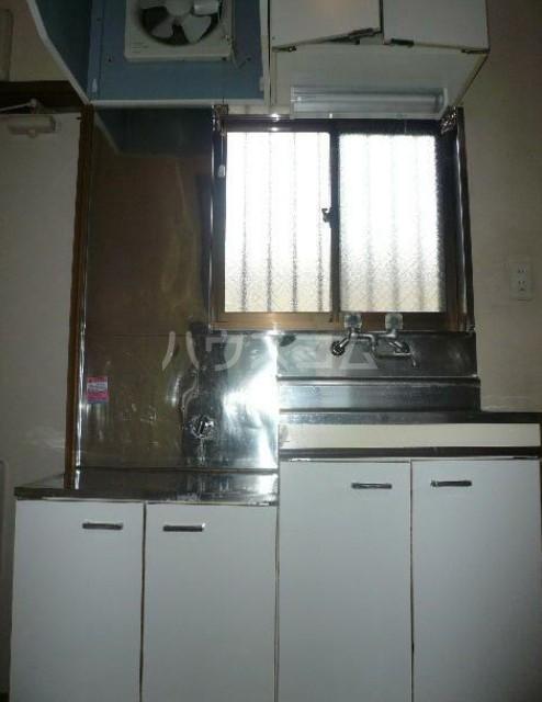 いずみ荘 203号室のキッチン
