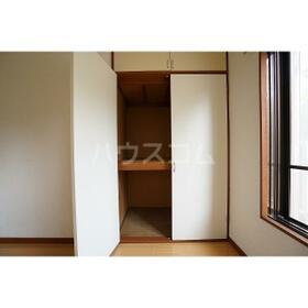 サンクチュアリ634 101号室の収納