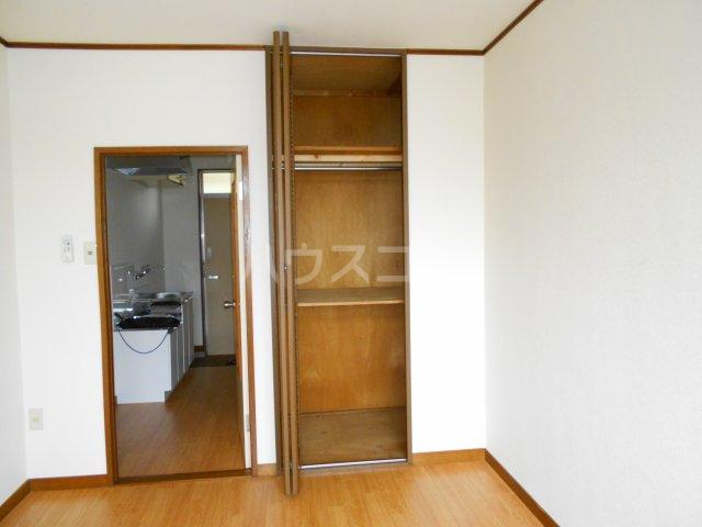 コーポ萩 201号室の収納