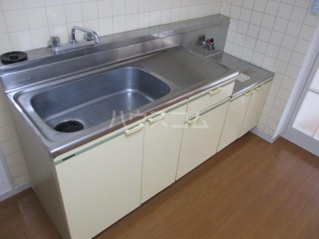 ハイム白糸 102号室のキッチン