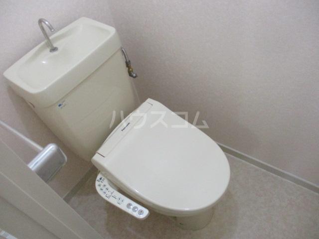 ハイム白糸 102号室のトイレ