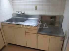マンション六本木 206号室のキッチン