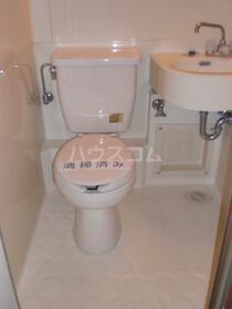 マンション六本木 206号室のトイレ