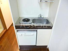 タクミハイツ 102号室のキッチン