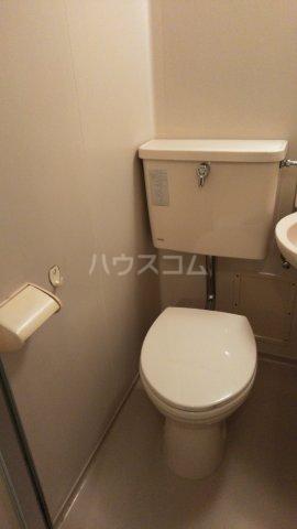 こん・あもーれ 204号室のトイレ