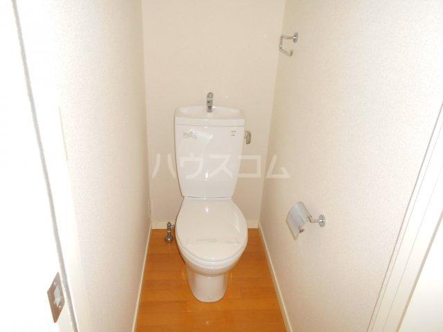 COURT AZALEA 203号室のトイレ