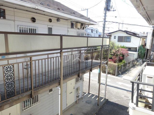 平成ハイツA棟 203号室の景色