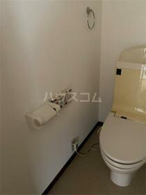 コウチビル 301号室のトイレ