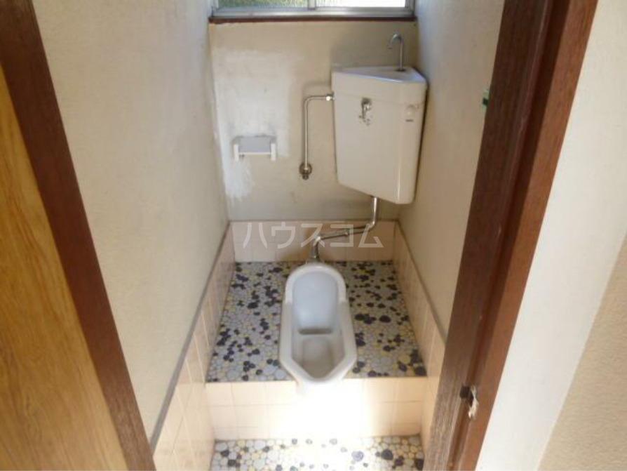 第二天竜荘 107号室のトイレ