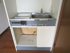 グリーンビレッジ 205号室のキッチン