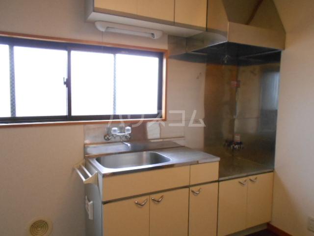 川口コーポ 301号室のキッチン