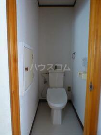 サンハウス 202号室のトイレ