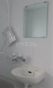 サンハウス 202号室の洗面所