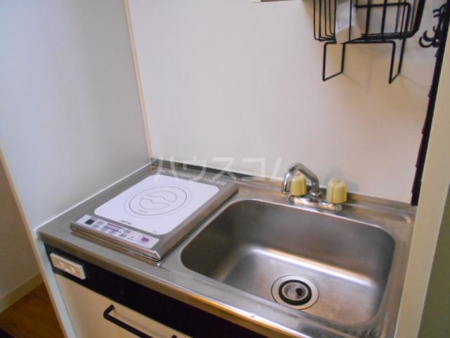 ハイツアロー 203号室のキッチン