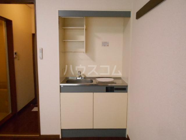 コーポ市瀬NO2 202号室のキッチン
