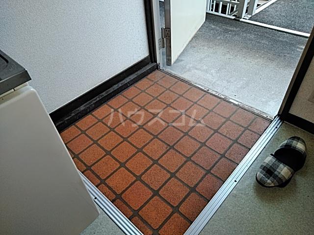 コーポウィスタリア 202号室の玄関