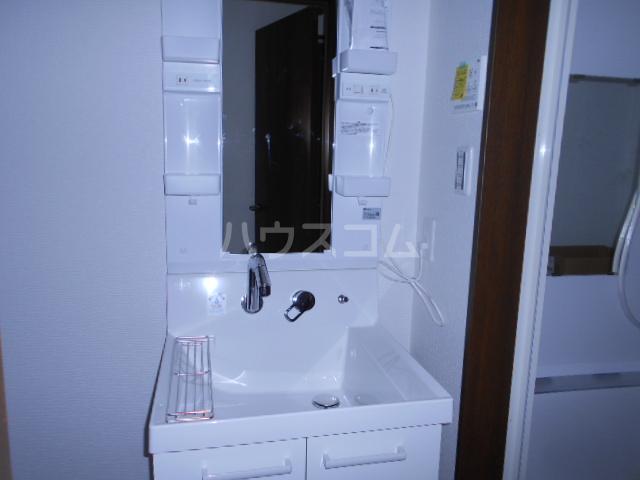 メモリエ府中 203号室の洗面所