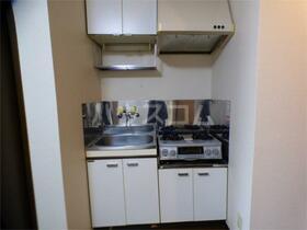 ビレッジハウス 202号室のキッチン