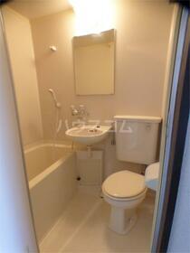 ビレッジハウス 202号室のトイレ
